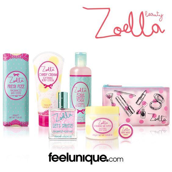 #Zoella's new #ZoellaBeauty #TuttiFruity range! http://www.feelunique.com/brands/zoella-beauty/tutti-fruity