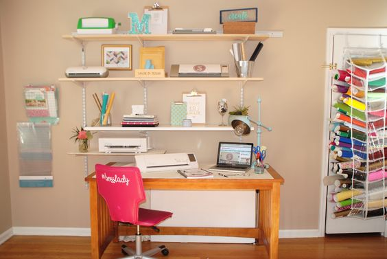 Silhouette School Office/Craft Room Makeover: Behind the Scenes ~ Silhouette School