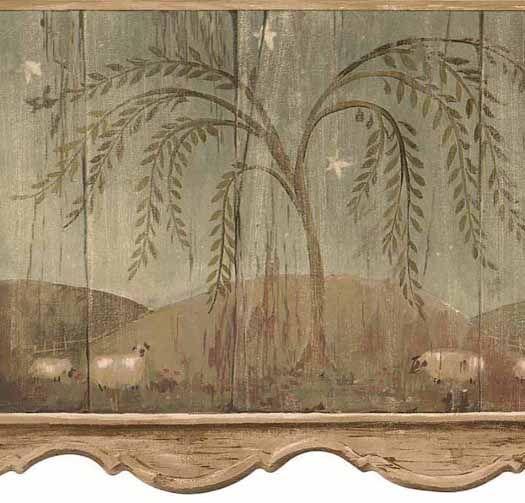 Twilight Glow   Wallpaper Border | Wallpaper Borders | Pinterest | Wallpaper,  Camo Bathroom And Walls