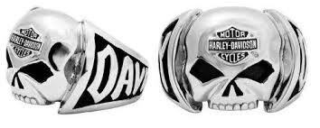 Harley-Davidson Men's Skull Ring