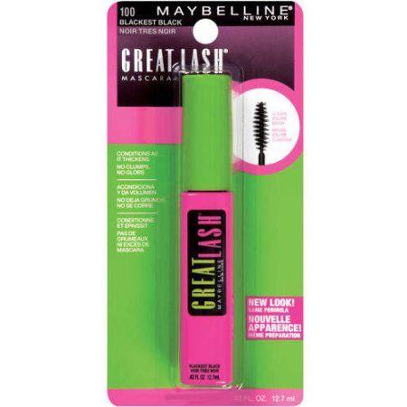 Maybelline New York Great Lash Washable Mascara, Black