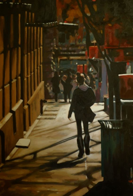 New York Streets, by Thomas Saliot