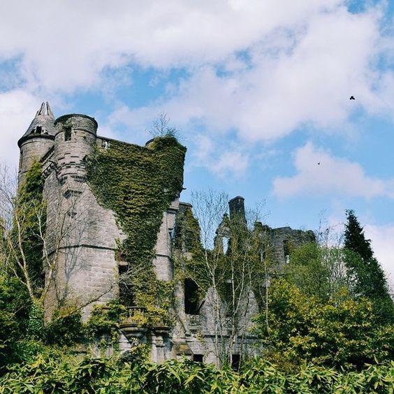 Castelo Buchanan em Stirlingshire, Escócia | 17 locais reais que provavelmente são portais para o mundo mágico