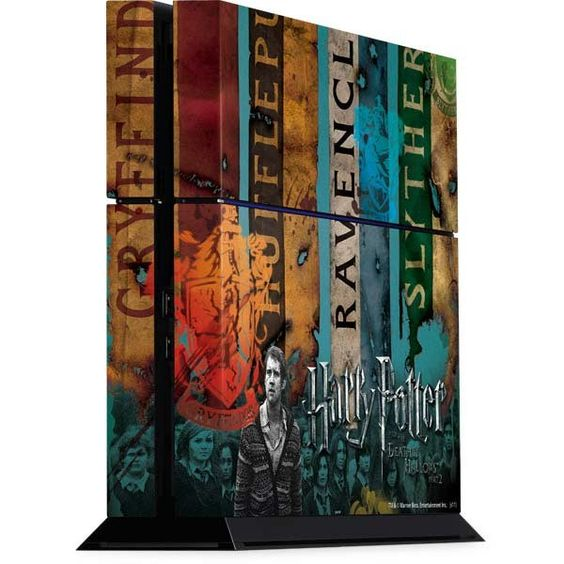 Harry Potter Houses Playstation 4 PS4 Console Skin | Christmas wish list (2015) | Pinterest ...