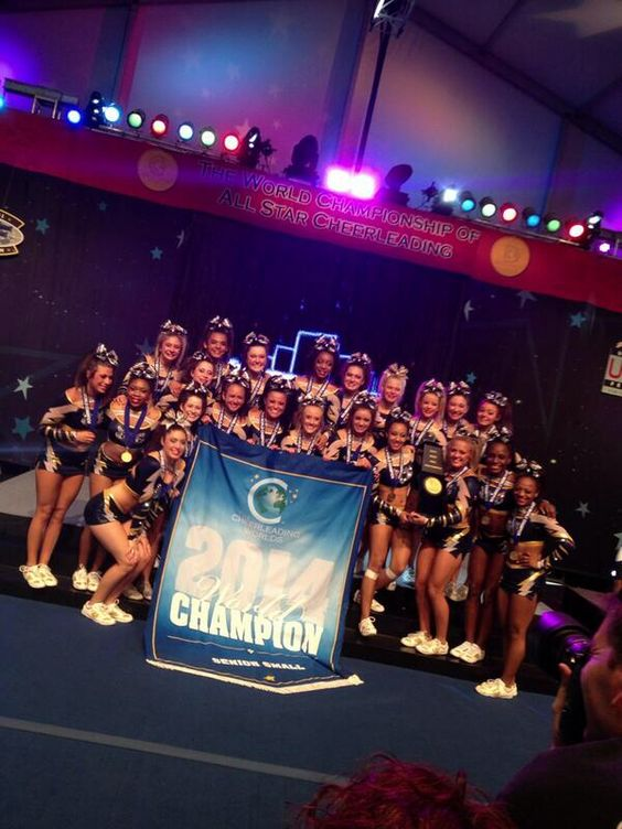 Congrats to ICE Lady Lightning on their gym's very first world championship!