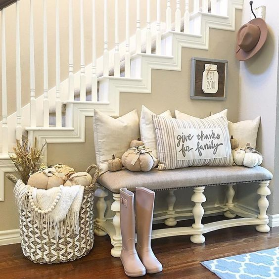 Front Entry Design Ideas To Make a Lasting Impression Every Time Someone Enters Your Home - Foyer and Entryway Organization and Decluttering Tips and Ideas