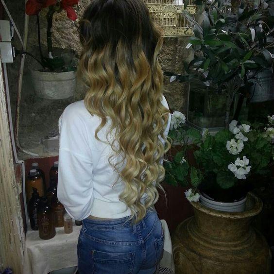 #capelli #nicolacapelli #capellilunghi #sfumato #colore #biondo