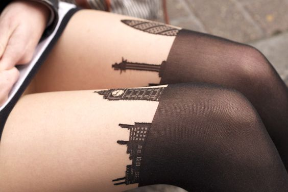 London skyline tights, These are unreal