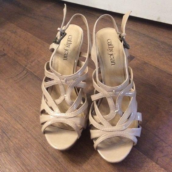 Nude strap stilettos Cathy Jean Flirty nude strap stilettos Cathy Jean Shoes Heels