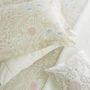 William Morris Larkspur Floral Housewife Pillowcase