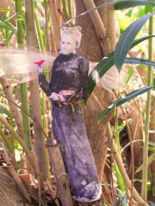 Fairy Doll Tutorial using pictures of your ancestors (This is my daughters creative project of my grandmother, Belle Sevey)