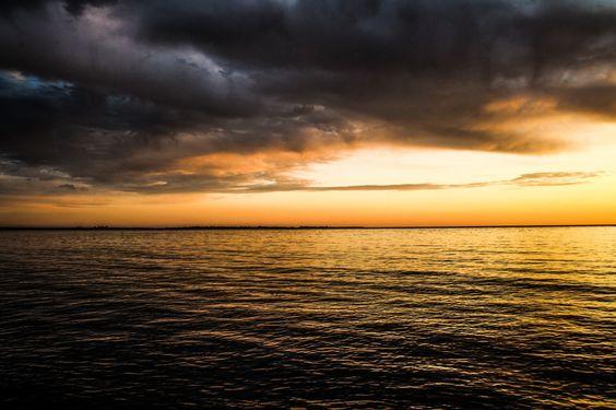 Photograph Reykjavik evening seascape by Dagur Jonsson on 500px