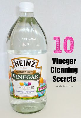 Vinegar Cleaning And Old Towels On Pinterest