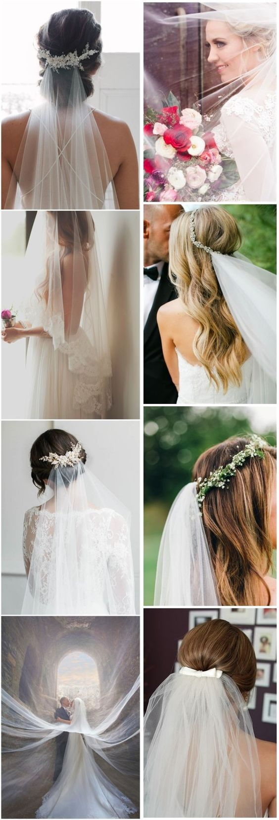 Wedding veils ideas!