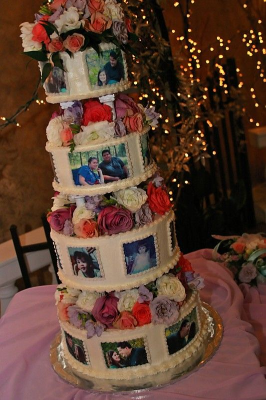My beautiful wedding cake!