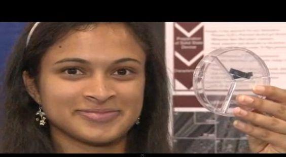 【充電革命】女子高生がたった20秒でモバイル端末の充電が完了する驚異的な装置を開発! | ロケットニュース24