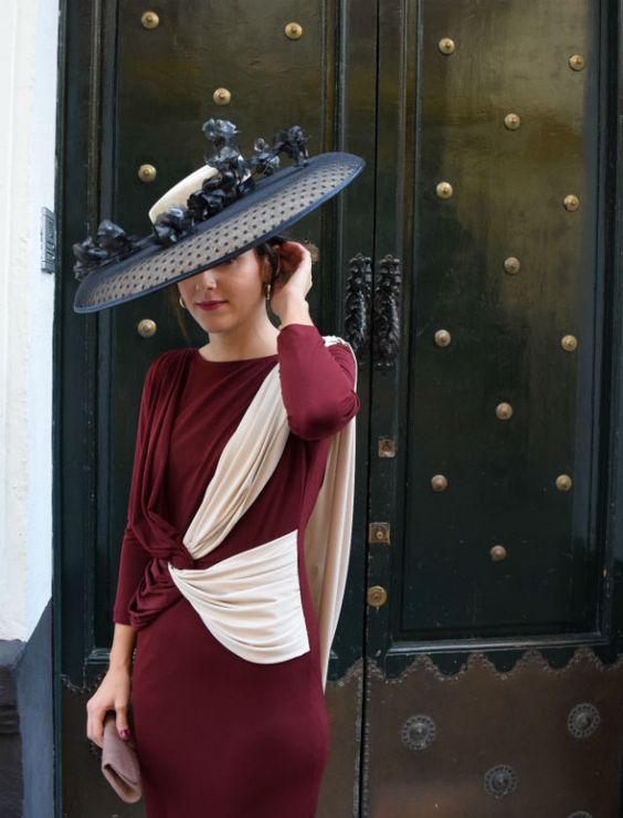 Mariola Valdivia con un vestido de la firma Puro Garbo. Foto: Ana Sarmiento