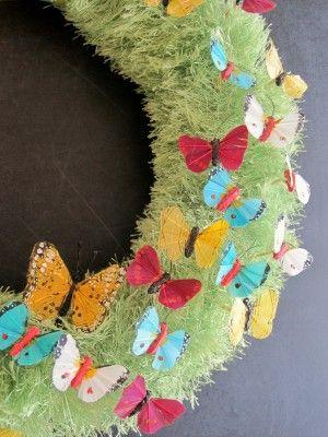 Cute spring wreath.