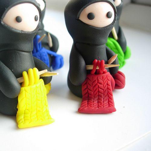 вяжущие ниндзя     knitting ninjas