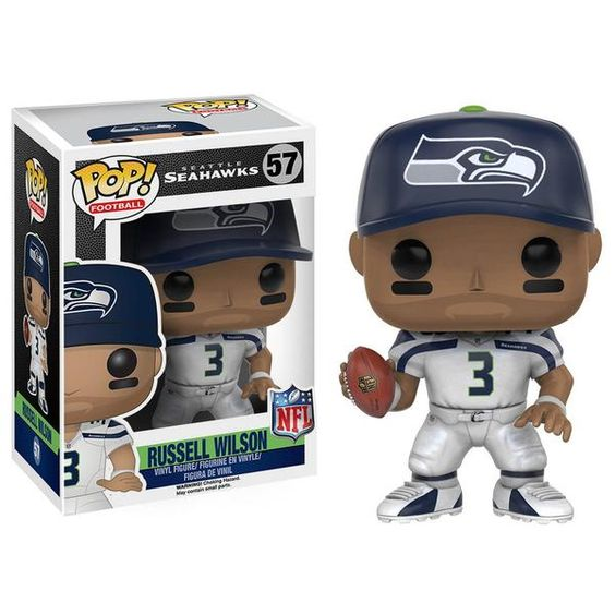 This is an NFL Seattle SeahawksPOP Russell WilsonVinyl Figurethat is produced by Funko. It's great to see that Funko has…