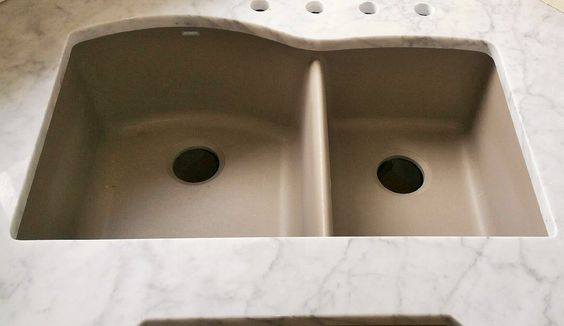 How To Clean A Blanco Composite Granite Sink : White Carrara Marble - Blanco Granite Composite Sink - Granite ...