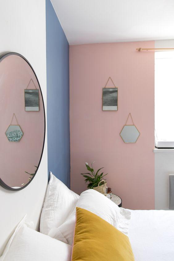 kamar tidur warna pink dan biru 3
