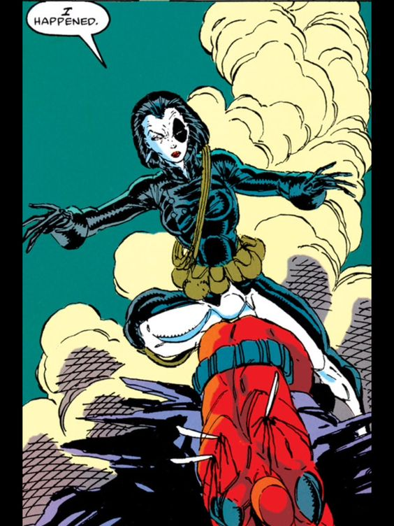Domino first app New Mutants #98 First app Deadpool - Rob Liefeld