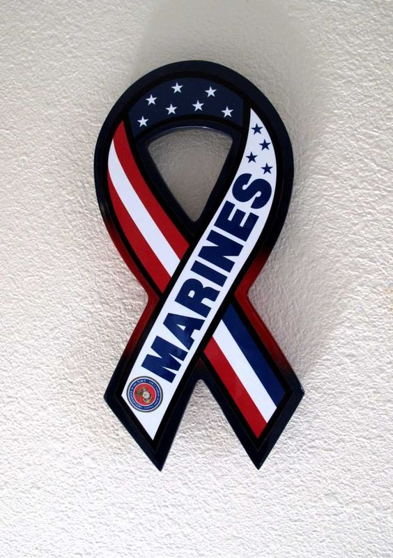 Marines Support Ribbons