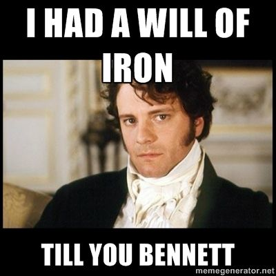 This is great! Very very great! Love Darcy :) even if he isn't actually that punny