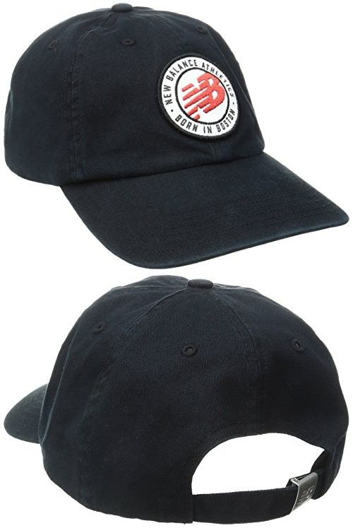 new balance cap black