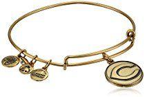 "Alex and Ani ""Major League Baseball"" Sports Logo Expandable Wire Bangle Bracelet, 7.75"""