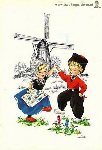 Dutch illustrator Frankie #NoordHolland #Volendam | West ... Cutedutch Nl