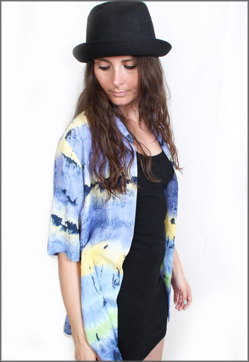 Vintage 90s Grunge Tie Dye Effect Oversized Studded Shirt Blouse        #fashion #style #vintage    http://www.ebay.co.uk/itm/Vintage-90s-Grunge-Tie-Dye-Effect-Oversized-Studded-Shirt-Blouse-Size-8-10-12-/130727281395?pt=UK_Women_s_Vintage_Clothing=item1e6ff402f3