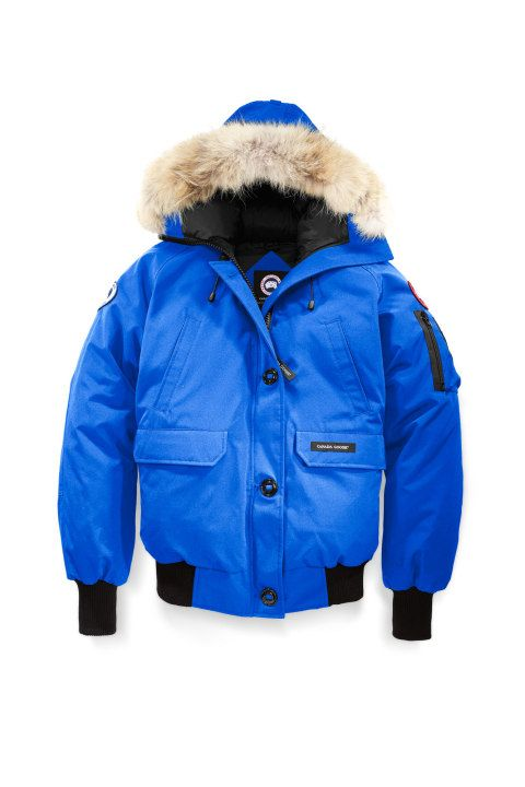Canada Goose Chilliwack Bomber Pbi Blue Canada Goose Womens Wholesale Clothing Women Clothes Sale