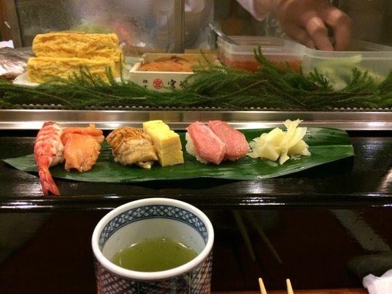 Sushi Dai @ Tsukiji Market.