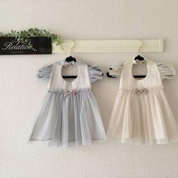ベビー 子供服のオーダーメイドギフトブランド Glitter さんの作品一覧 画像あり フラワーガールドレス 子供服 女の子の ドレス