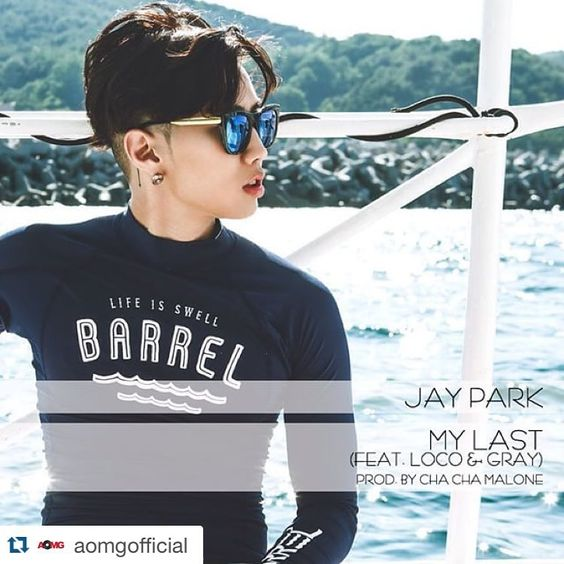 #Repost @aomgofficial with @repostapp. ・・・ #MYLAST 박재범 - My Last (Feat. 로꼬 &…