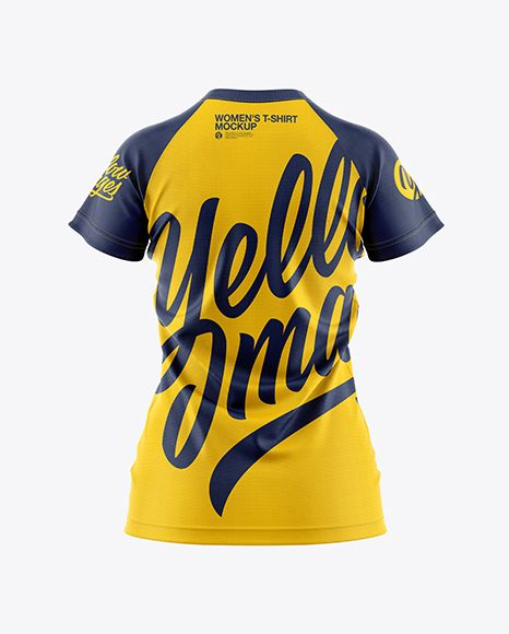Download Women S T Shirt Mockup In Apparel Mockups On Yellow Images Object Mockups Shirt Mockup Tshirt Mockup Clothing Mockup