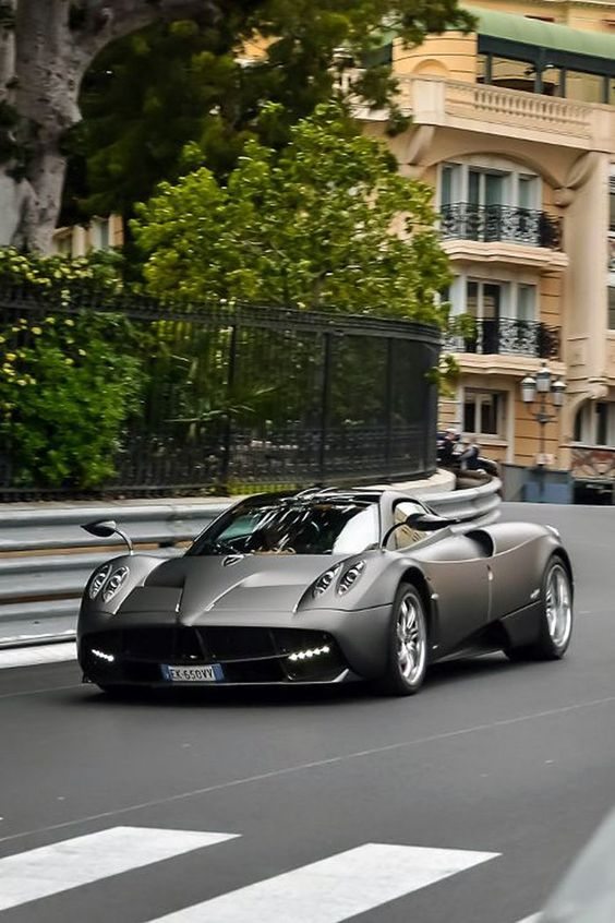 """Pagani Huayra. It is an Italian mid-engined sports car produced by Pagani. Succeeding the company's previous offering, the Zonda, it costs €1,198,000 ($1,600,000). It is named after Wayra Tata, which means """"God of the winds"""" in Quechua, the official language of the Inca Empire. Photo from Monte Carlo: http://www.gregpiatkowski.com/monte-carlo-fascinating-place-to-visit-and-live/"""