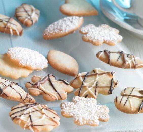 Butter-Teegebäck - Knusprige Butterplätzchen zu Weihnachten