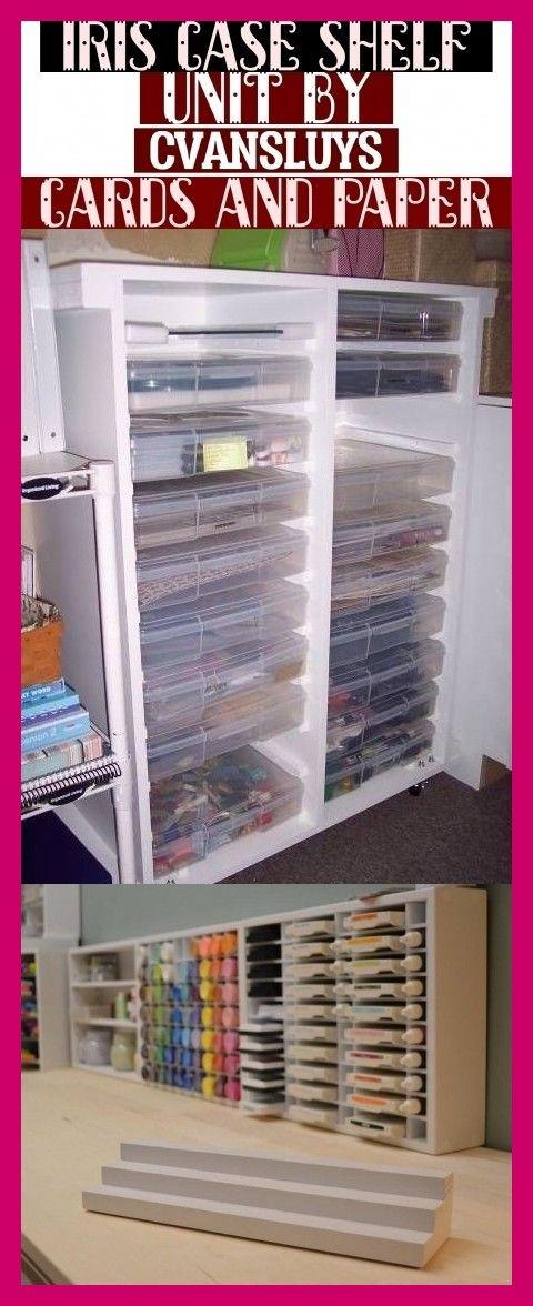 Iris Case Shelf Unit By Cvansluys Cards And Paper Shelves Shelf Unit Craft Storage