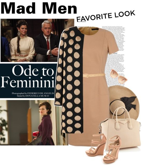 """""""Mad Men"""" by meri011 ❤ liked on Polyvore"""