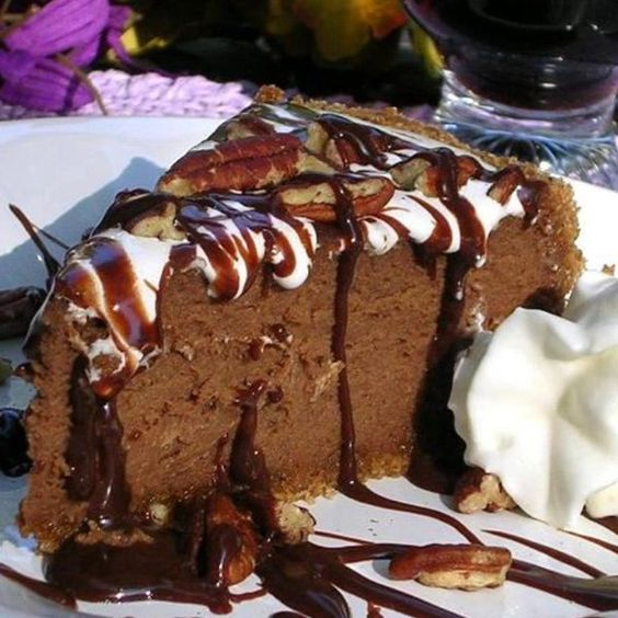 "Mississippi Mud Cheesecake | ""All the flavors of Mississippi Mud Cake ..."