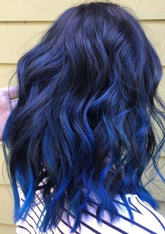 Blue Hair Unnatural Hair Color Hair Color Blue Light Blue Hair