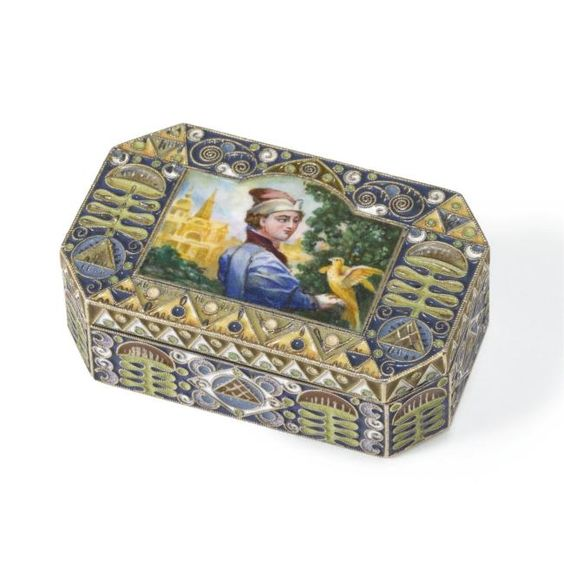 Feodor Ruckert Faberge enamelist