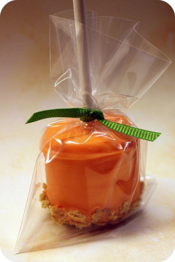 Pumpkin Marshmallows.... cute!