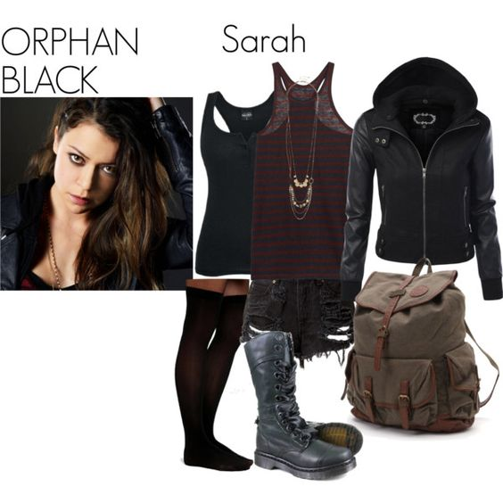 """""""Orphan Black- Sarah Manning"""" by nchavez113 on Polyvore ..."""