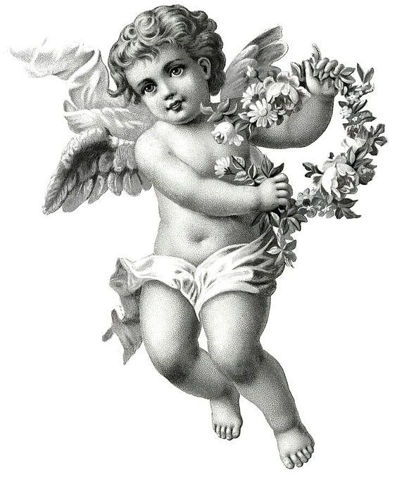 cherub tattoo flash - Google Search