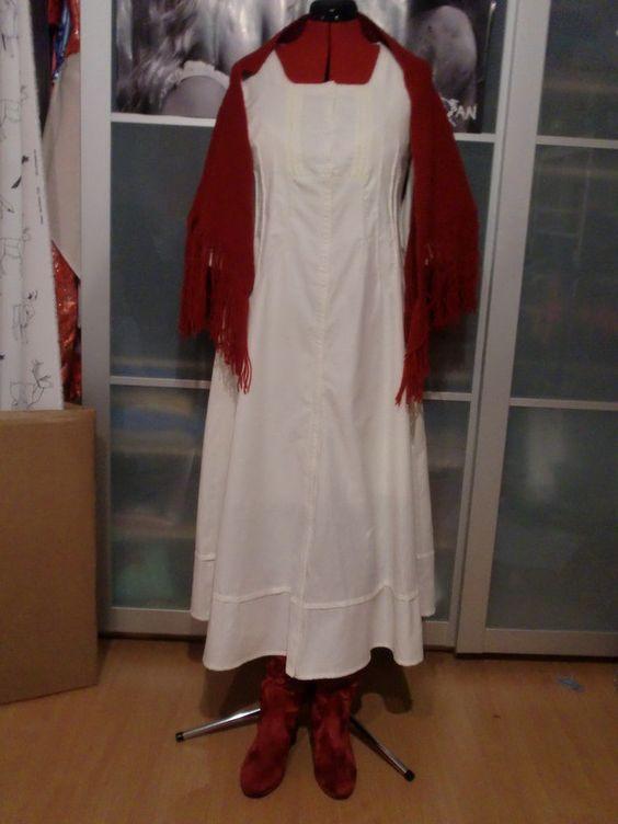 Sarah Tanz der Vampire Ballkleid Nachthemd Kostüm costume
