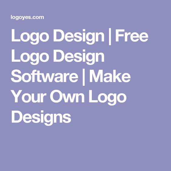 Logo design free logo design software make your own for Design your own salon